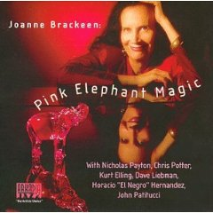 "Joanne Brackeen ""Pink Elephant Magic"" SIGNED by Brackeen"