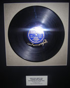 "BIX!! - Bix Beiderbecke and His Gang "" SINCE MY BEST GIRL TURNED ME DOWN"" Framed 78 (Signed by Wynton Marsalis!"