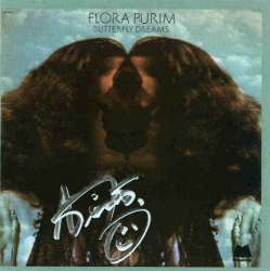 BUTTERFLY DREAMS - Flora Purim CD on Milestone - AUTOGRAPHED by featured artist, AIRTO