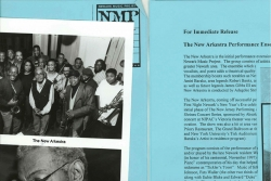 Newark Jazz Press Kit