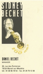 Daniel Bechet business card