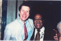 1997 Photo Jazz Calendar with photo of  Phil Schaap and Clark Terry by Norm Harris