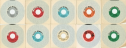 Complete Set of the elusive and splendid Jazz Session 45 RPM records with a bonus 45 on Schaap Records that is more than rare