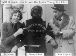 Professional 1985 Print of BUCK CLAYTON and the Lester Young Fan Club Jacket