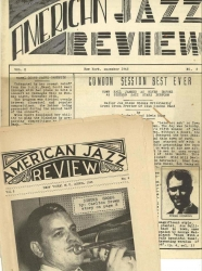 AMERICAN JAZZ REVIEW bundle: Dec. 1945 & April 1946