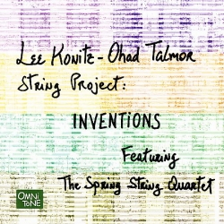 "LEE KONITZ ""Inventions"" w/ String Quartet, SIGNED by the artist!"