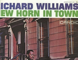 Richard Williams NEW HORN IN TOWN - Barnaby/Candid Jazz BR 5014