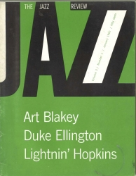 THE JAZZ REVIEW, January 1960 issue