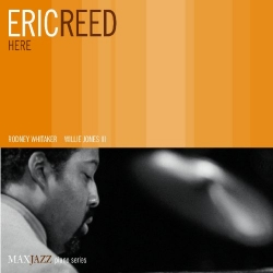 ERIC REED, Here, AUTOGRAPHED MaxJazz CD