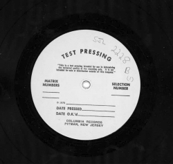 The Individualism of PEE WEE RUSSELL, Savoy Jazz/Arista TEST PRESSING SJL 2228