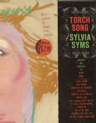 TWO SYLVIA SYMS LPS - She Loves To Hear The Music & Torch Song, SEALED A&M LP 4696 and Columbia DJ PROMO