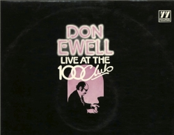 DON EWELL Live At The 100 Club, AUTOGRAPHED 77 Records LP!