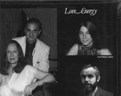 Connie Crothers & Lenny Popkin Quartet, LOVE ENERGY, SEALED New Artists LP NA1005