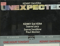 TWO SEALED KENNY DAVERN LPs, Unexpected & One Hour Tonight, Kharma PK7 & Music Masters MMD 20148A