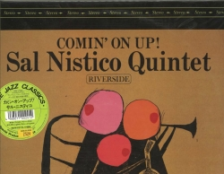 COMIN' ON UP, Sal Nistico Quintet, SEALED/Still New Wave Jazz Classics WWLJ 7023