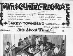 IT'S ABOUT TIME VOL. 1, Larry Townsend, SEALED Town & Country Records LP 100/TR-520568