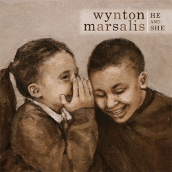 WYNTON MARSALIS He and She SIGNED CD!!