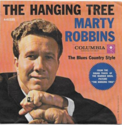 "MARTY ROBBINS ""The Hanging Tree"" 45RPM with picture sleeve Columbia 4-41325"