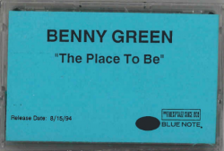 BENNY GREEN The Place To Be—Blue Note Promo Cassette