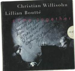 LILLIAN BOUTTÉ Come Together CD SIGNED to George Wein and Wife