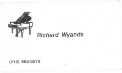 RICHARD WYANDS Business Card