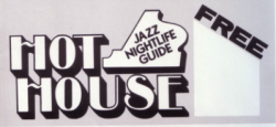 HOT HOUSE NYC Jazz Guide 3 magazine bundle—10/1996, 5/1997, 6/1997