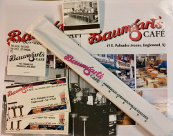 Items from DIZZY GILLESPIE's favorite restaurant—Baumgart's Café!!