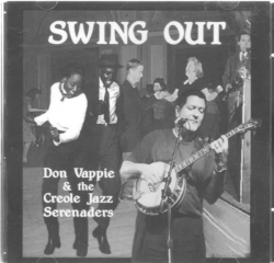 DON VAPPIE and the Creole Jazz Serenaders Swing Out CD SIGNED!!