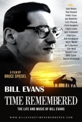 BILL EVANS Time Remembered DVD film by Bruce Spiegel