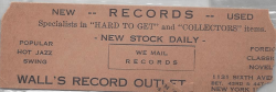 Wall's Record Outlet flyer