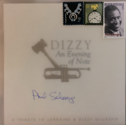 dizzy and lorraine gillespie auction sealed invitation from dawson