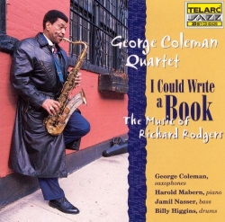 I Could Write A Book GEORGE COLEMAN autographed CD