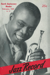 JAZZ RECORD magazine Feb 1947