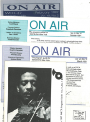 WKCR program guides '87 to '97