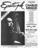 "CHARLES MINGUS Original Flyer from the Premiere Performance of ""Epitaph"""