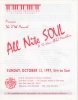 ALL NITE SOUL program 10/12/1997