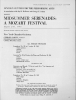 MOSTLY MOZART FESTIVAL 1967: August 9th,1967 Featuring FRIEDRICH GULDA