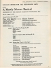 MOSTLY MOZART: 8/3/1972 featuring Leonard Sorkin and Abraham Loft