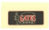 vintage GATES Barbecue (Kansas City) napkin
