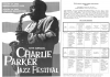 CHARLIE PARKER JAZZ FESTIVAL 10th Annual Program 2002
