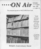 WKCR 50TH ANNIVERSARY PROGRAM GUIDE October 1991