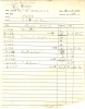 BUD POWELL, Original Session Ledger, 1955 !
