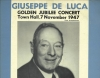 Giuseppe De Luca,  Golden Jubilee Concert at Town Hall, ASCO Records LP A-124