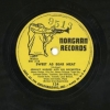 JOHN COLTRANE with Johnny Hodges' Orchestra - Norgran 78rpm record pair #s 124 and 131!
