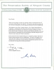 Newport Jazz Festival 50th Anniversary proclamation letter, SIGNED by GEORGE WEIN