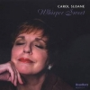 CAROL SLOANE, Whisper Sweet, SIGNED High Note CD!