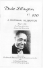 DUKE ELLINGTON Centennial program City College 5/7/99