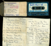 Eddie Jenkins 1981 cassette of rare Joe Robichaux recordings with notes in his hand!!