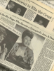 ELLA FITZGERALD Newspaper clippings (obituary and reviews of tribute concerts)
