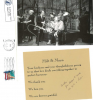 2 pieces of correspondence to Walter Schaap (Phil's father) from MILT HINTON and ARVELL SHAW